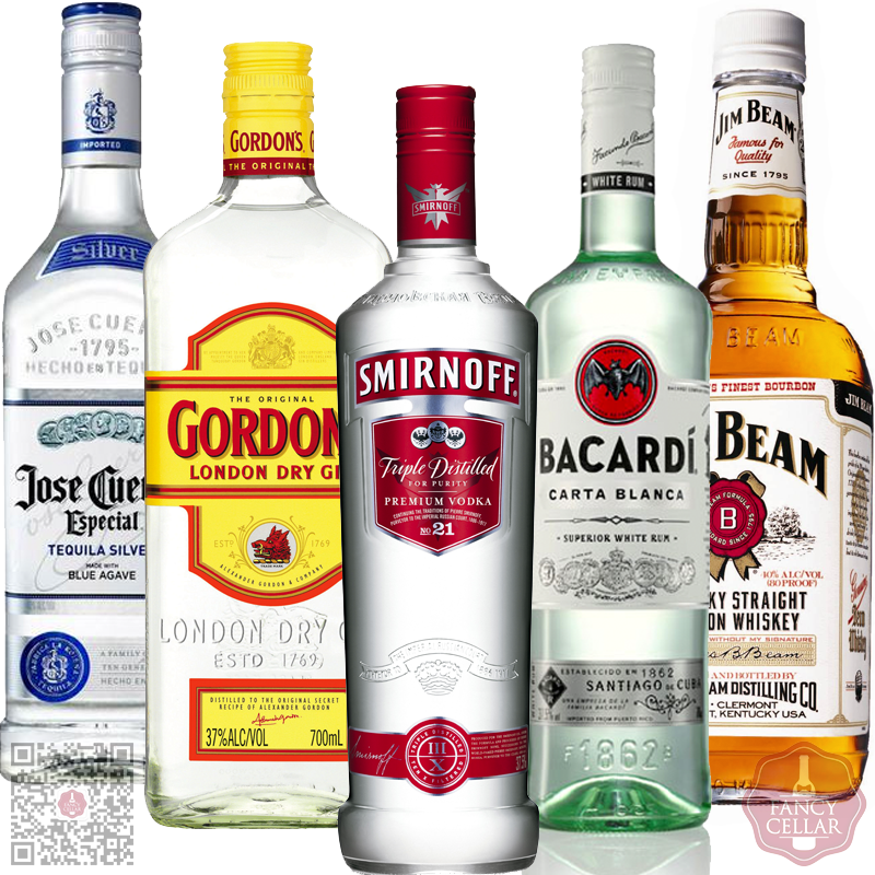 awesome20home20bar20kit20e2809320vodka20rum20gin20whisky20tequila