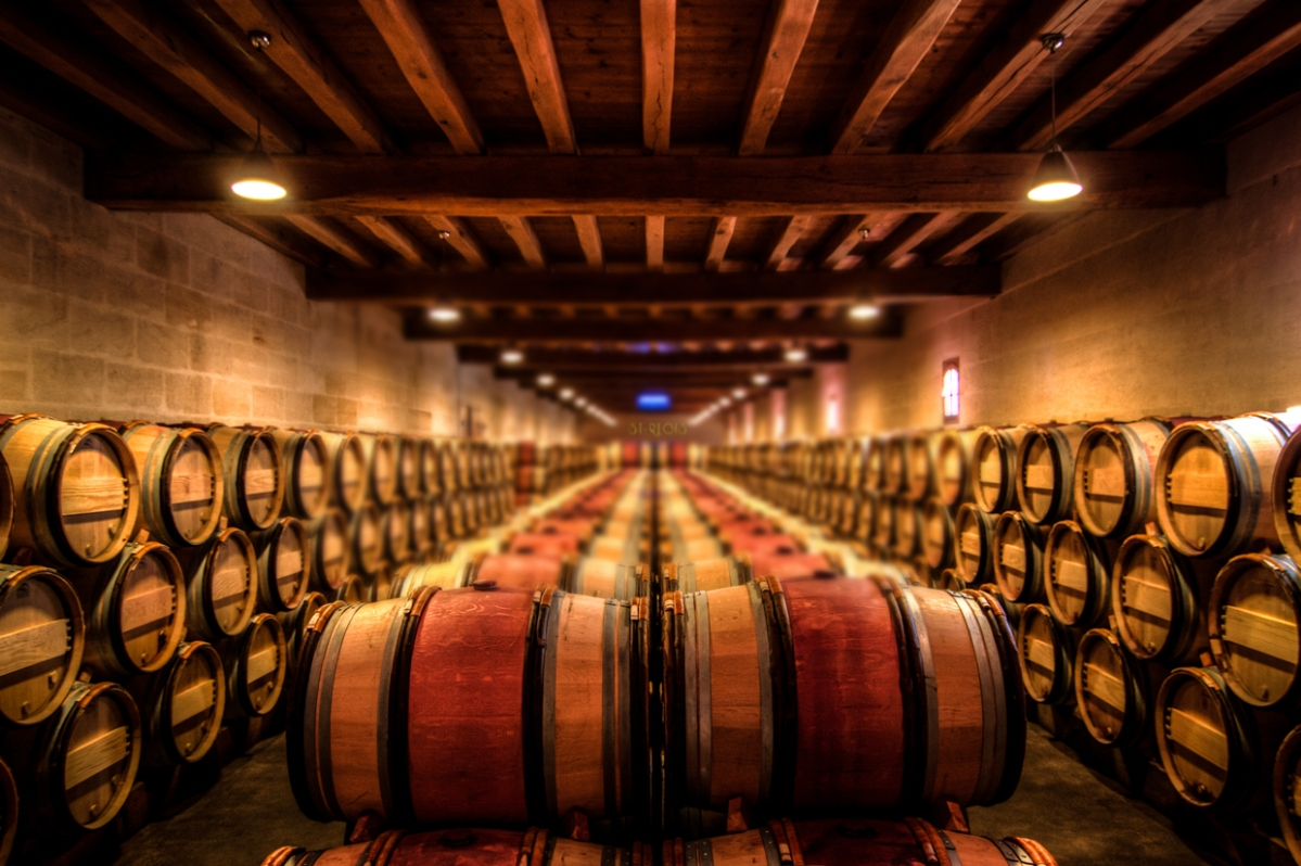 Wine Maturing and Aging